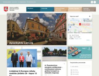 eurep.mfa.lt screenshot