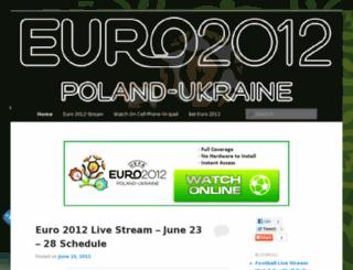 euro-2012-live-stream.com screenshot
