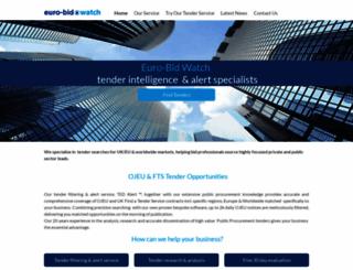 euro-bidwatch.com screenshot
