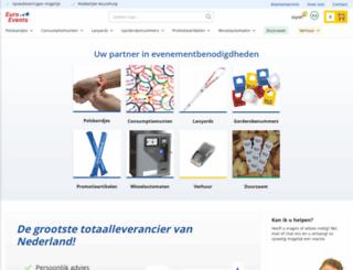 euro-events.nl screenshot