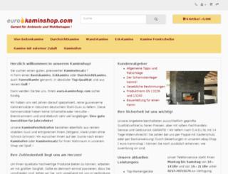 euro-kaminshop.com screenshot