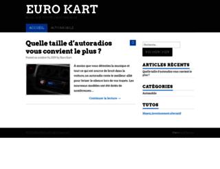 euro-kart.fr screenshot