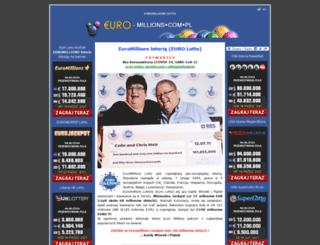 euro-millions.com.pl screenshot