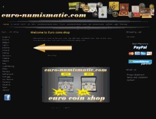 euro-numismatic.com screenshot