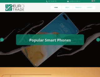 euro-trade.se screenshot