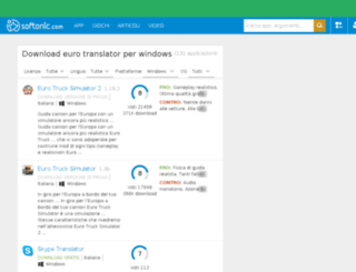 euro-translator.softonic.it screenshot