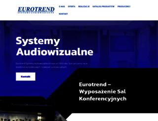 euro-trend.pl screenshot