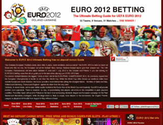 euro2012bet.eu screenshot