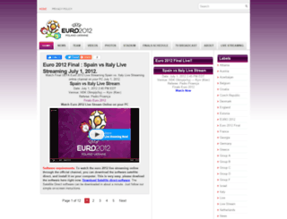 euro2012livestreaming.blogspot.com screenshot