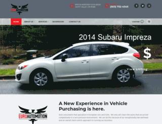 euroautomotion.com screenshot