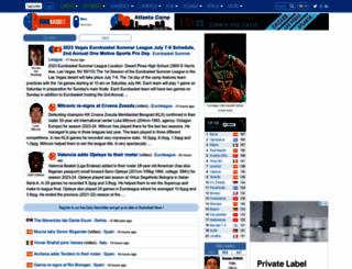 eurobasket.com screenshot