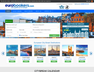 eurobookers.com screenshot