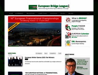 eurobridge.org screenshot