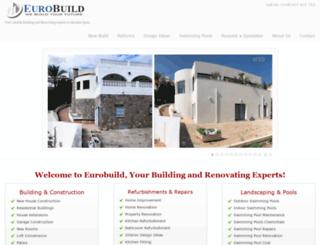 eurobuild.es screenshot