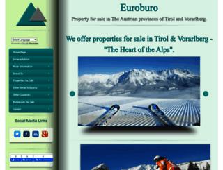 euroburo-tirol.com screenshot