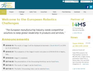 euroc-project.eu screenshot