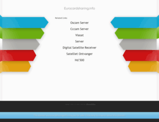 eurocardsharing.info screenshot