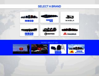 eurocargo.iveco.com screenshot