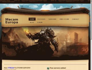 eurocc.sytes.net screenshot