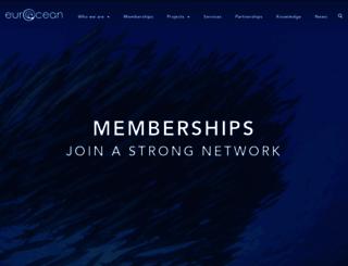 eurocean.org screenshot