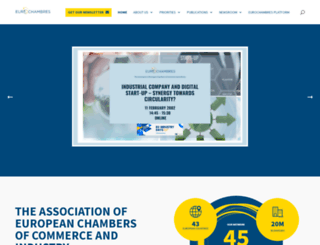 eurochambres.eu screenshot