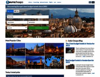 eurocheapo.com screenshot