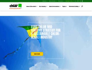 eurochlor.org screenshot