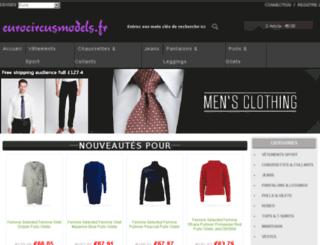 eurocircusmodels.fr screenshot