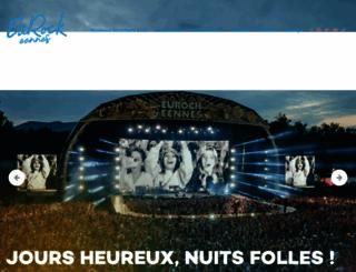 eurockeennes.fr screenshot