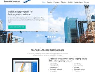 eurocodesoftware.se screenshot