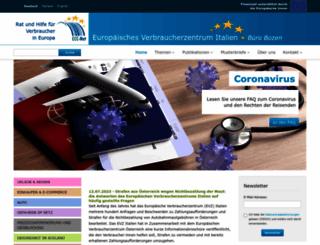 euroconsumatori.org screenshot
