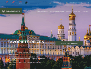eurocult.nl screenshot