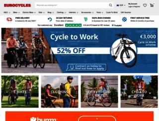 eurocycles.com screenshot