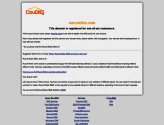 eurodalles.com screenshot