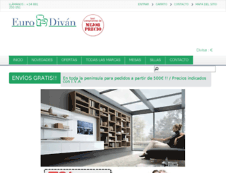 eurodivan.com screenshot