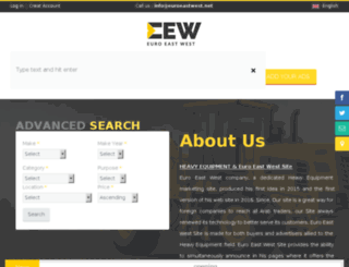 euroeastwest.net screenshot