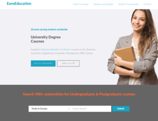 euroeducation.net screenshot