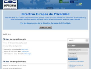 euroempleo-cec.org screenshot