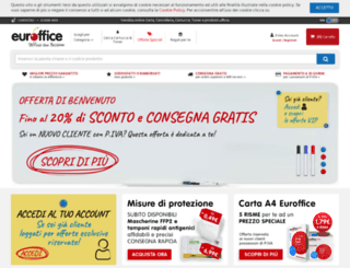 euroffice.it screenshot
