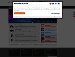 eurofinsgenomics.co.in screenshot
