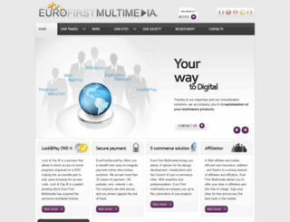 eurofirstmultimedia.com screenshot