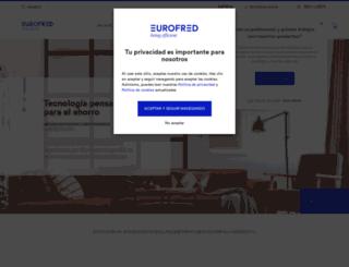 eurofred.es screenshot