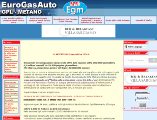 eurogasauto.egm.it screenshot