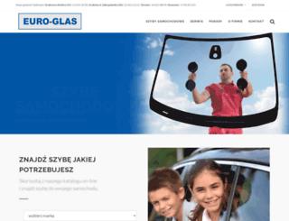 euroglas.com.pl screenshot