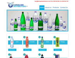 euroglobedistributors.co.uk screenshot