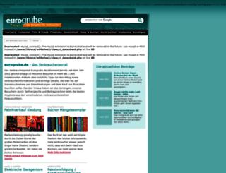 eurogrube.de screenshot