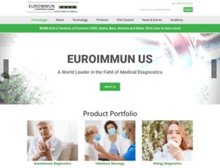 euroimmun.us screenshot
