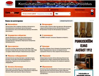 euroinfopage.com screenshot