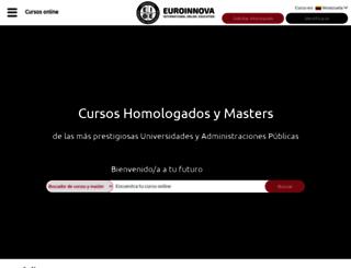 euroinnovaformacion.com.ve screenshot