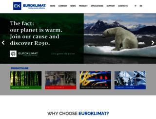 euroklimat.it screenshot